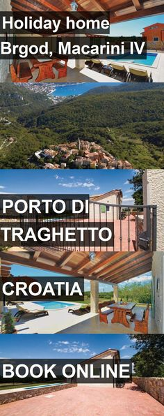 Hotel Holiday home Brgod, Macarini IV in Porto di Traghetto, Croatia. For more information, photos, reviews and best prices please follow the link. #Croatia #PortodiTraghetto #travel #vacation #hotel