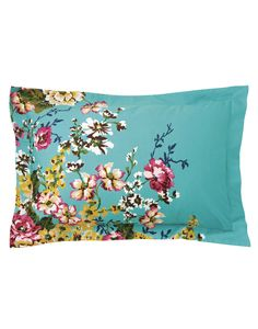 Aquafloral Pillowcambflor Cambridge Floral Pillowcase , Size One Size | Joules UK