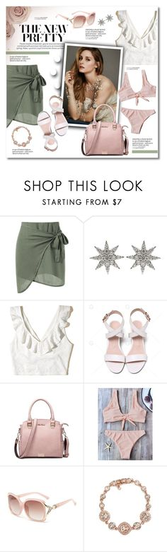 """""""The new pretty"""" by violetta-valery ❤ liked on Polyvore featuring Bee Goddess, Hollister Co. and Givenchy"""