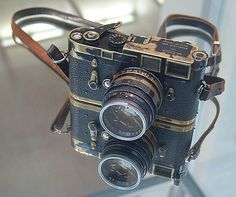 Elliot Erwitt's well worn Leica M3 and 50mm Summilux by Eyepenn (Andrew)