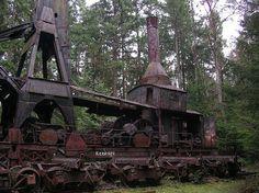 Huge Log Crane Steamer  by NineInchNachosII