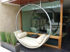 Outdoor Floating Ring   Modern   Exterior   Orange County   Modern Studio  Furnishings