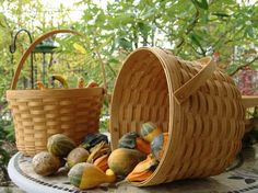 Longaberger Basket - Hand made to hand down. I'm addicted!.