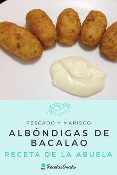 Albondigas, Baked Potato, Tapas, Cheesecake, Potatoes, Fish, Baking, Ethnic Recipes, Ecuador