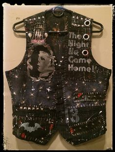 Myers Vest from Chad Cherry by ChadCherryClothing on Etsy