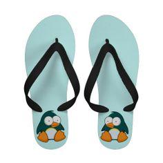 Funny Penguin Women's Sandals