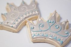 miss america party - Crown cookies from Chickadee Bakery