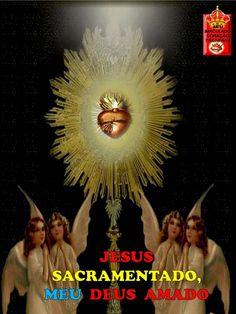 JESUS SACRAMENTADO, MEU DEUS AMADO!