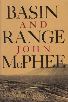 Basin and Range by John McPhee 1982 4th Printing Trade Paperback Geology