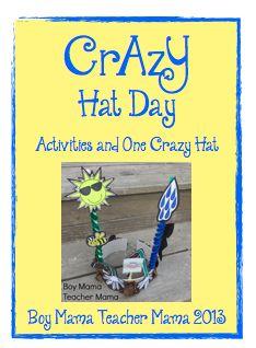 Boy Mama Teacher Mama: Crazy Hat Day