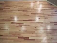 Love the hickory floor