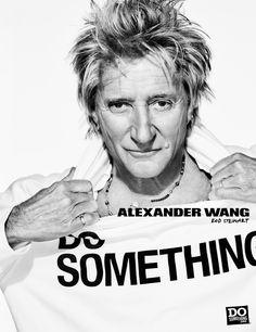 Alexander Wang Gives Back - Rod Stewart-Wmag