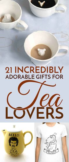 21 Gifts For People Who Are Completely Obsessed With Tea--I absolutely loved these!!