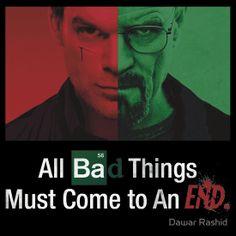 Breaking Bad and Dexter Finale sticker