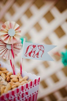 #circus, #peanut  Event Design: Eventology Events - eventologyevents.blogspot.com photography: Elyse Hall Photography - elysehall.com  Read More: http://www.stylemepretty.com/2011/06/02/circus-wedding/