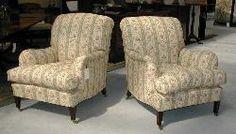 Howard Chairs, original fabric