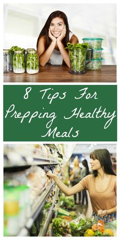 Need motivation and direction? These healthy meal prepping tips will get those healthy dinners on the table each night!