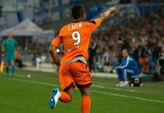 Jordan Ayew of Lorient