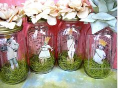 80th Birthday Ideas for Mom | idea. I did something similar for my mom and her twins 80th birthday ...