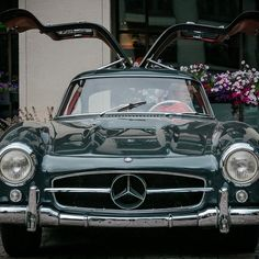 #300SL Stretched Its Gullwings #MercedesBenzofHuntValley #Mercedes
