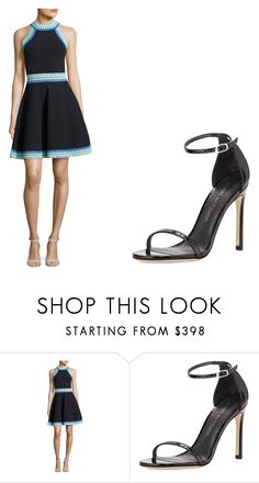 """""""Casual dress up day 34"""" by sarahshawverisawesome on Polyvore featuring Milly and Stuart Weitzman"""