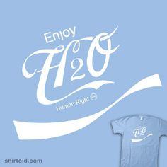 Enjoy Water! Human Right!