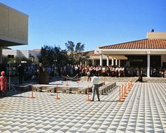 Fashion Island opening, Newport Beach, 1967 by Orange County Archives, via Flickr