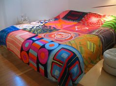 silk scarves bedspread thing i might try this!!! like it
