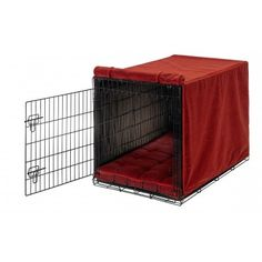 Bowsers Luxury Crate Cover - Cherry Bones