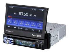 """DVD Automotivo Naveg NVS 3170 Retrátil Tela 7"""" - com Entrada USB SD e Auxiliar Frontal com as melhores condições você encontra no Magazine Raimundoslz. Confira!"""