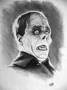 The Phantom Of The Opera - Art By Darrel Bevan