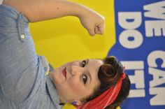 Rosie the Riveter. Photo by Rudy Lopez