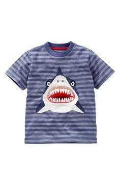 Mini Boden 'Danger' Appliqué T-Shirt  #danger    It's not okay to start buying kids clothes, right?