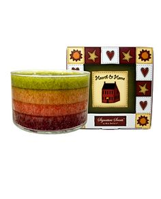 Signature Series - Hearth  Home  Description: Reminiscent of a warm and cozy home, this inviting fragrance is infused with fresh apple notes, and perfectly accompanied by the spicy nuances of clove and cinnamon. Sit back and relax with this comforting fragrance.
