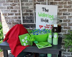 Golf Party - Watering Hole