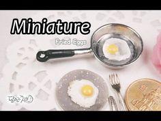 미니어쳐 계란 후라이 만들기 Miniature * Fried Eggs - YouTube