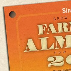 The Story Behind the Hole in the Farmers' Almanac