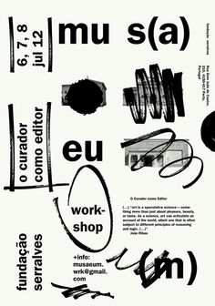 Letra poster by Marco Balesteros