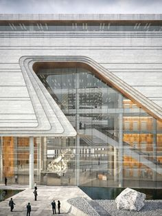 10 DESIGN | Xiangzhou Cultural Center - Picture gallery