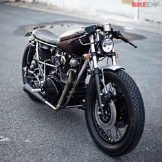 Yamaha XS650 by Clutch Custom Motorcycles.