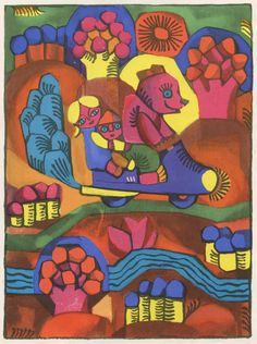 Pabėgusi dainelė (The Little Song that Ran Away) by the Lithuanian writer Aldona Liobytė. Illustrations by Birutė Žilytė - Lithuania, 1966.