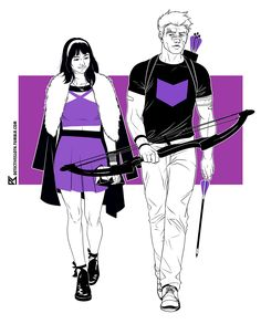 Hawkeye and Hawkeye - the dream team. Bro, if you haven't yet, go read Fraction, Aja, and Hollingsworth's amazing run on this book. Bro.