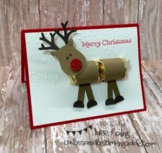 Reindeer Projects :: Confessions of a Stamping Addict Lorri Heiling Stampin' Up Reindeer