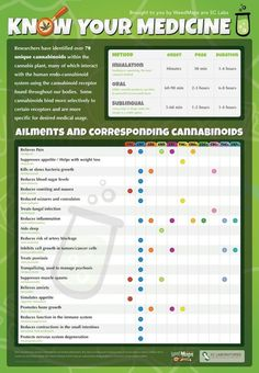Know Your Medical Marijuana - What Cannabinoids Help With Different Ailments