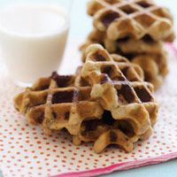 instant gratification : chocolate chip cookies ready in a matter of minutes, using a waffle iron