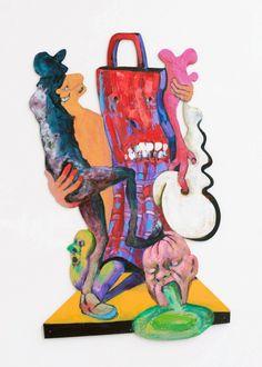 Rob McLeod: When The Aliens Land — {Suite} Art Gallery, Wellington, New Zealand Nz Art, New Zealand, Disney Characters, Fictional Characters, Art Gallery, Artwork, Artist, Plywood, Aliens
