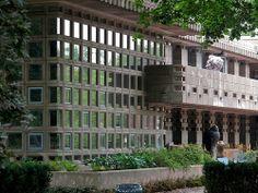 Turkel House. Detroit, Michigan. 1955. Frank Lloyd Wright. Usonian