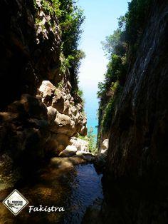 Fakistra Canyon ----Greece Pelion