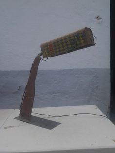 lampara reciclaje