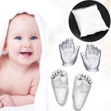 3D Plaster Handprints Baby Hand & Foot Casting Kit Moulding Powder Keepsake Gift
